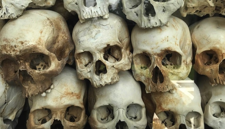 Killing Fields Pagoda, Pol Pot